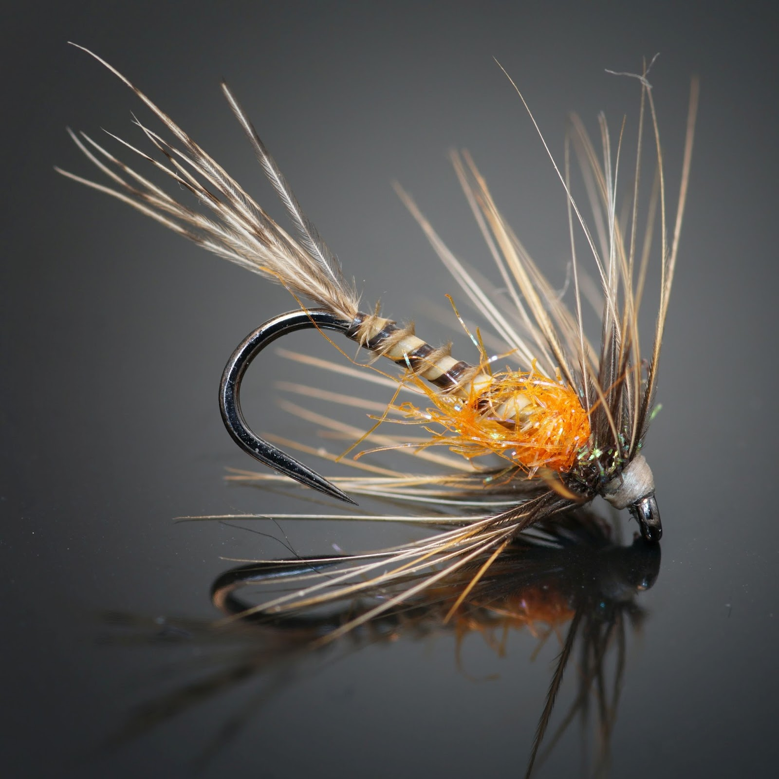 Bucktooth callibaetis nymph fly fish food fly tying for Fly fishing tying