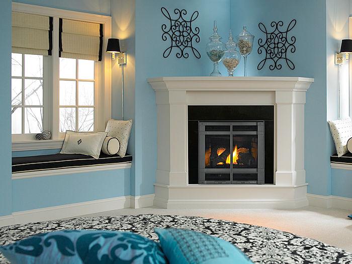 Corner hearth adorning - Decorating A Corner Fireplace