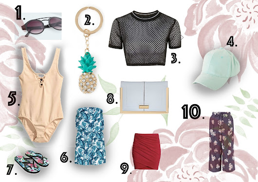 10 Holiday Buys for £10 and under ☀️