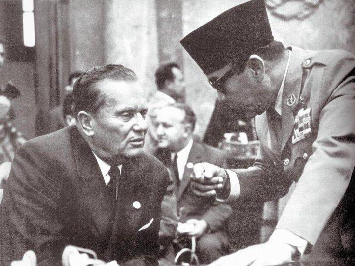 Josip Broz Tito dan Bung Karno