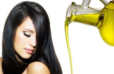Minyak rambut perawatan secara alami