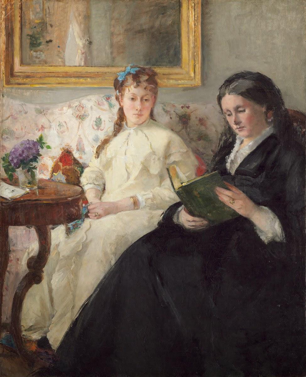 Berthe Morisot, La madre y la hermana de la artista