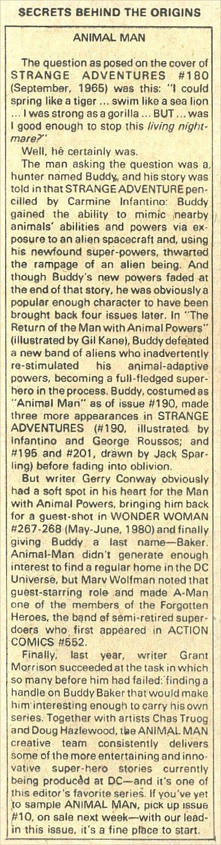 Read online Secret Origins (1986) comic -  Issue #39 - 21