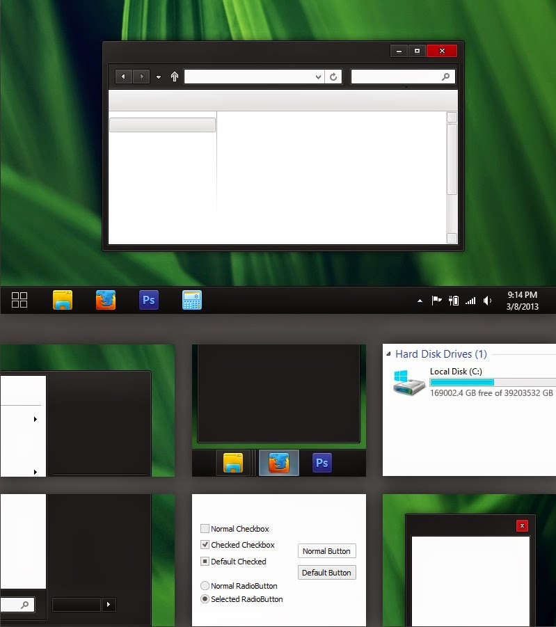 Top 10 Windows 8 Themes and Skin Packs