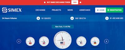 Cara Membuat Akun Simex, Sebagai Salah Satu Global Exchanger DDKOIN