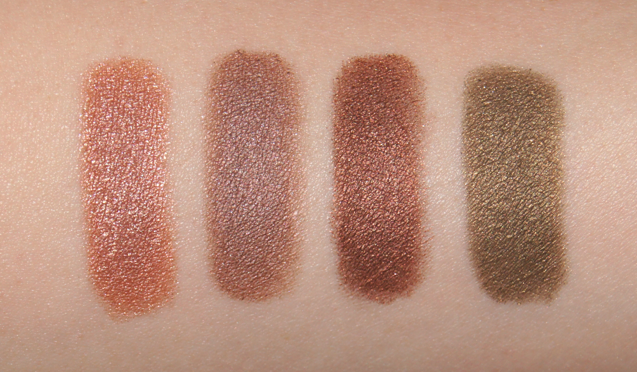 clinique chubby stick shadow tint for eyes swatches ample amber lots o latte fuller fudge whopping willow review