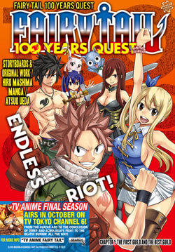 Ver Descargar Fairy Tail Manga: 100 Years Quest Tomo 10