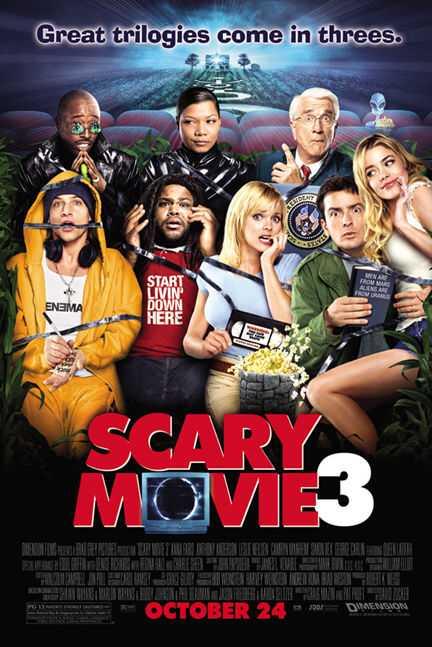 Scary Movie 3 (2003) Dual Audio (Hindi-Eng) 480p BRRip 300MB