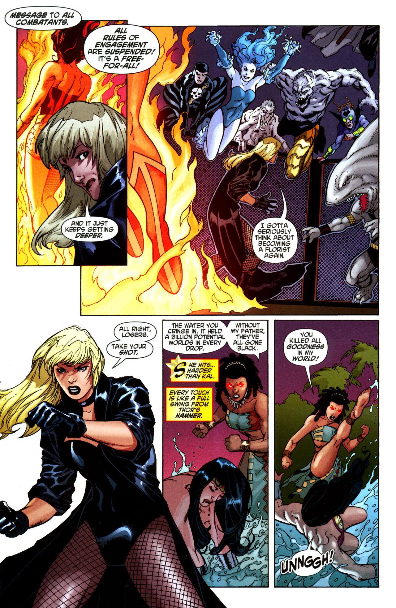 Read online Wonder Woman (2006) comic -  Issue #35 - 17