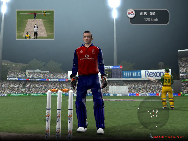 EA Cricket 2005 Gameplay Screenshot 1
