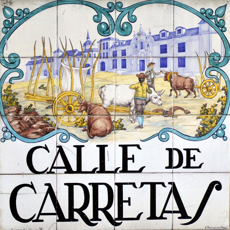 Nombres Calles Madrid  SEONegativocom