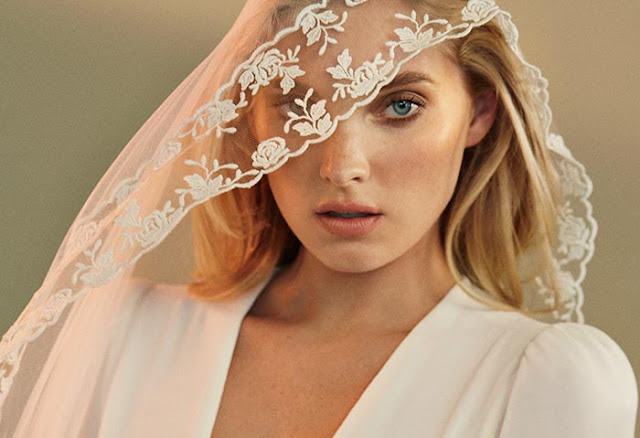 Reformation Bridal Collection Fall 2016 featuring Elsa Hosk