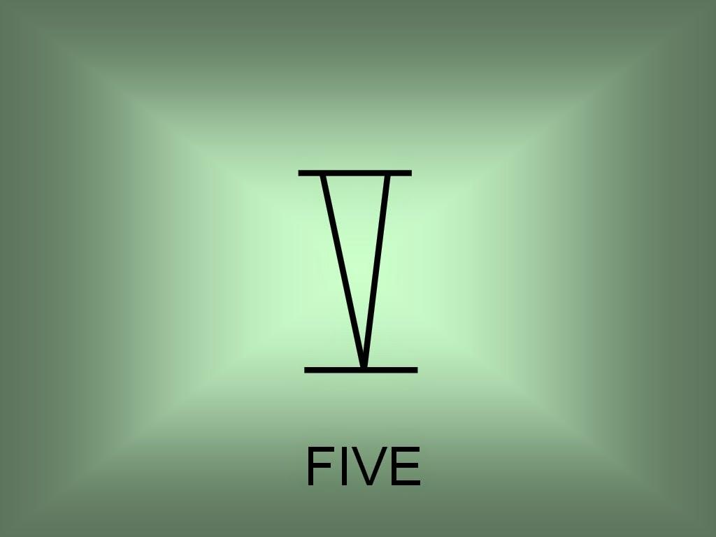 Roman Numeral Of 5