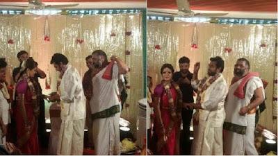 chiranjeevi-sarja-meghana-raj-engagement-pics