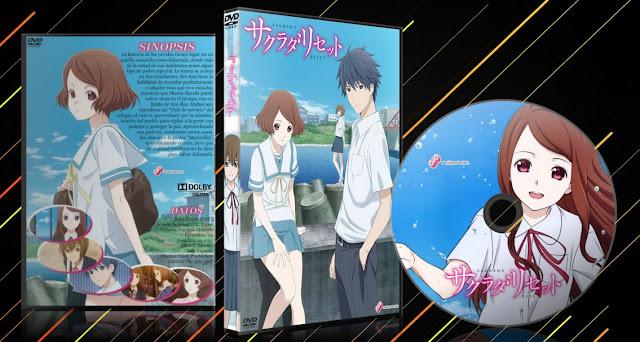 Sakurada Reset | Cover DVD | MEGA |