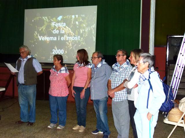 Esguard de Dona - La Junta Directiva de la SCR de Sant Jaume dels Domenys  qui va organitzar la Festa de la Verema i el Most 2017