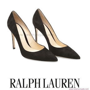 Crown Princess Victoria wore Ralph Lauren Suede Pumps