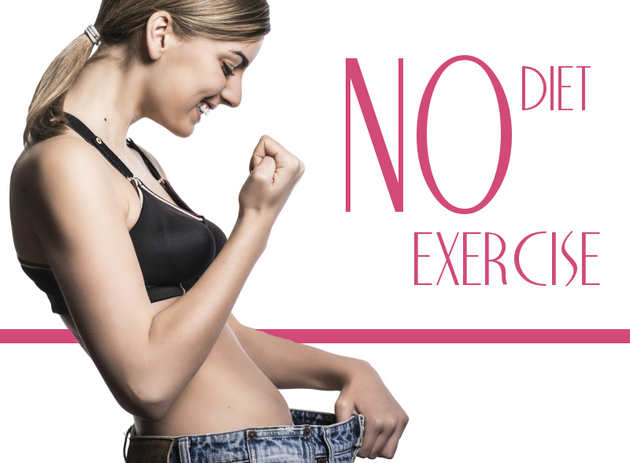 No-exercise no-diet