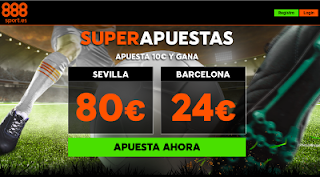 888sport ganancias super apuestas Sevilla vs Barcelona 31 marzo