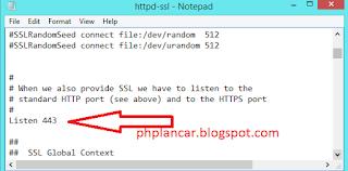 5 - Tutorial Mengganti Port Pada Mysql Dan Apache Di Xampp Versi Terbaru