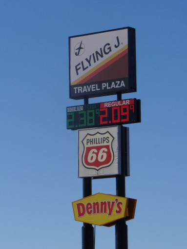 Flying J Tucumcari New Mexico : flying, tucumcari, mexico, Walkabout, Wheels, Blog:, Fueling, Motorhome, Flying, Tucumcari,, Mexico