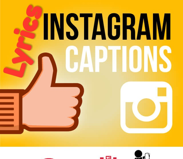 Instagram Captions Lyrics