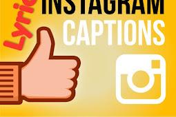 Instagram Captions Lyrics