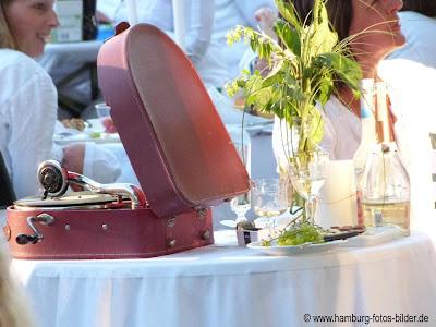 Dinner in Weiß - Dekoration - Hamburg 2012 - 10