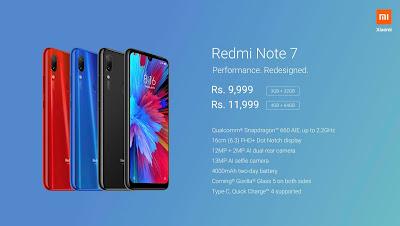 Redmi Note 7 Best Smartphone