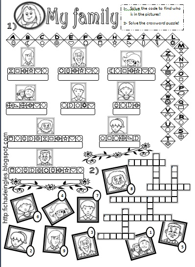 LEARNING IS FUN!: FAMILY WORKSHEETS