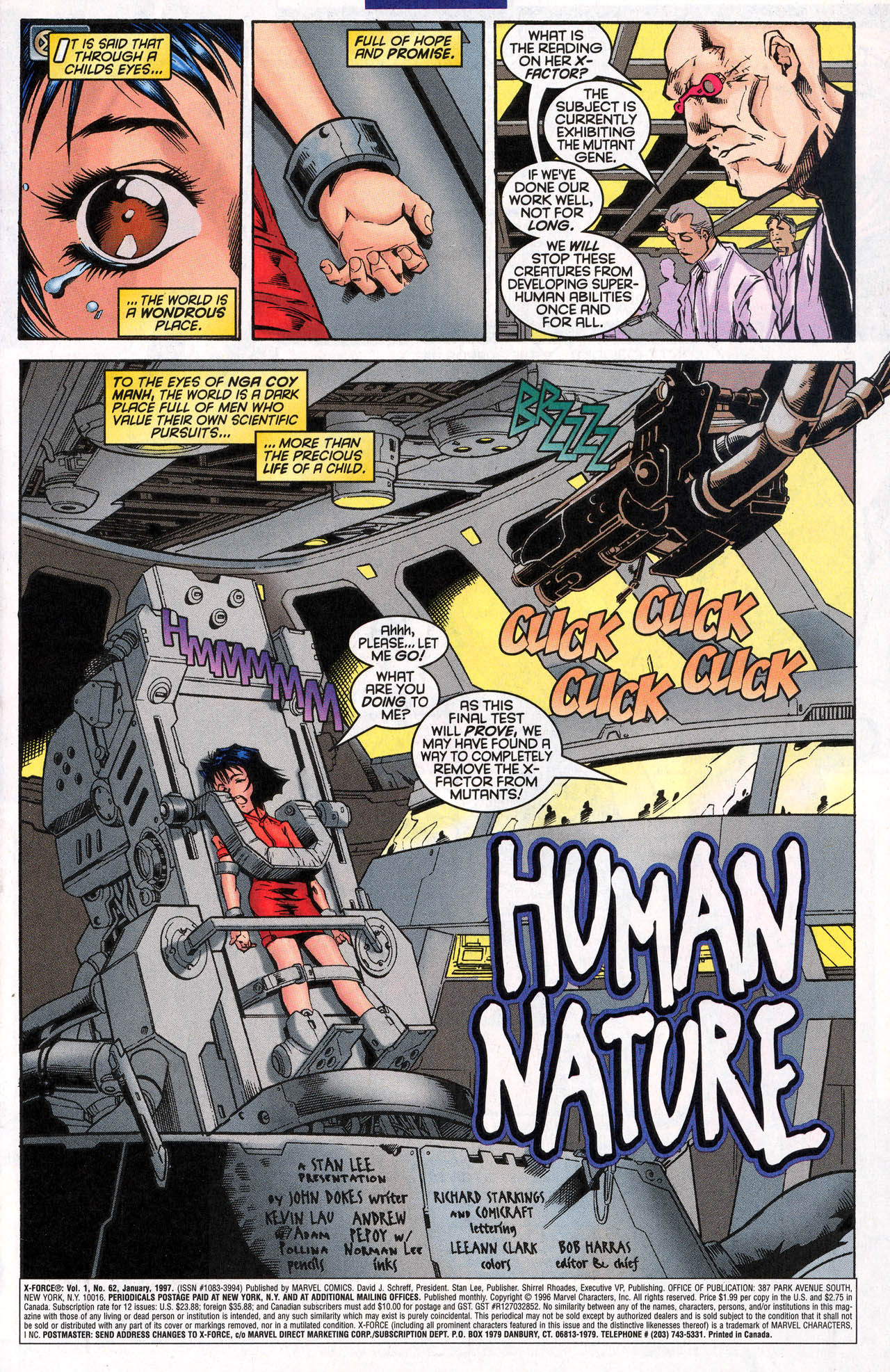 Read online X-Force (1991) comic -  Issue #62 - 3