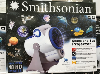 Bring the fun of science into your child's room with the Smithsonian Space and Sea Projector
