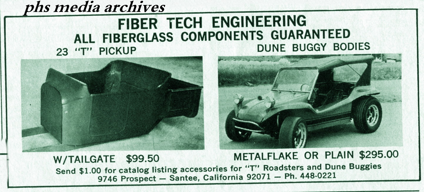Summer Special On 1960s Dune Buggy Kits Phscollectorcarworld 1967 Vw Beetle Simple Wiring Diagram Fiber Tech Engineering Was Just One Of Many Copy Cats Operating In The Late