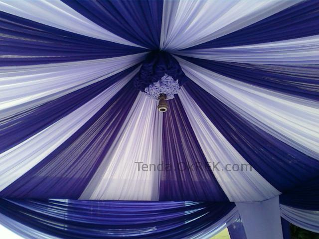 Foto dekorasi terop pernikahan  Pelaminan  Tenda Ok Rek