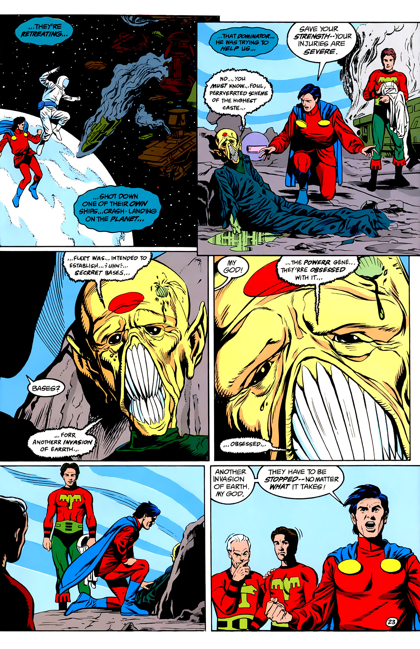 Legion of Super-Heroes (1989) _Annual_1 Page 23