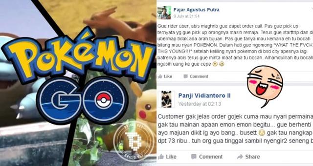 Gara-Gara Main Game Pokemon Go Semuanya Sibuk Dengan Sendirinya