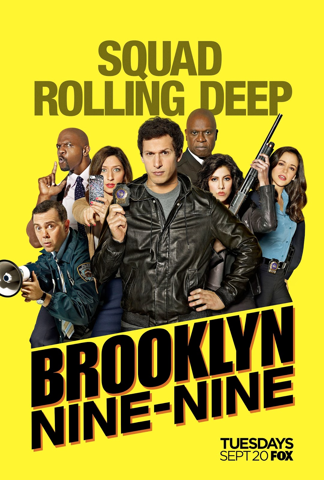 Brooklyn Nine-Nine 2016: Season 4 - Full (1/6)