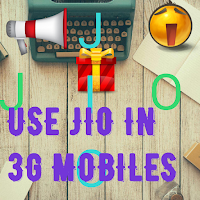 how to use jio 4G sim in 3G phones