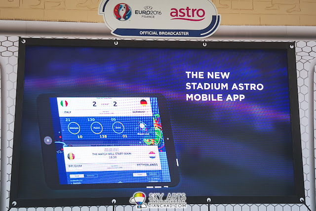 Stadium Astro will come up with latest feature - match highlights in multi camera angles and push notifications