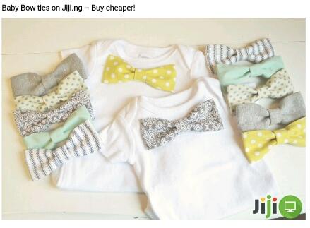 Baby Bow Ties on Jiji.ng - Buy Cheaper