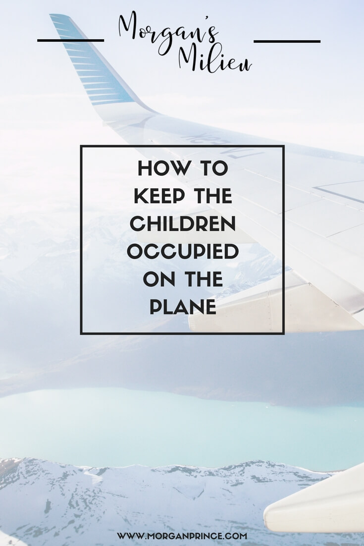 How to keep the children occupied on the plane if you're heading on holiday.