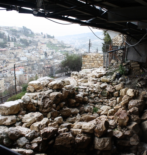 excavated city of david