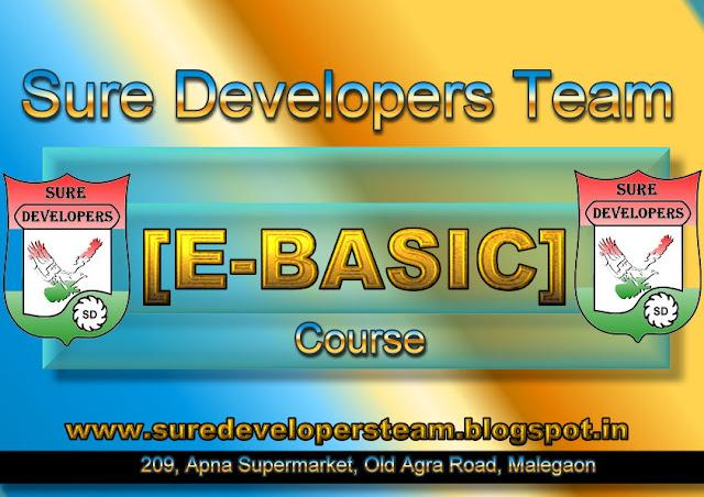 Certificate in E-Basic [E-BASIC]
