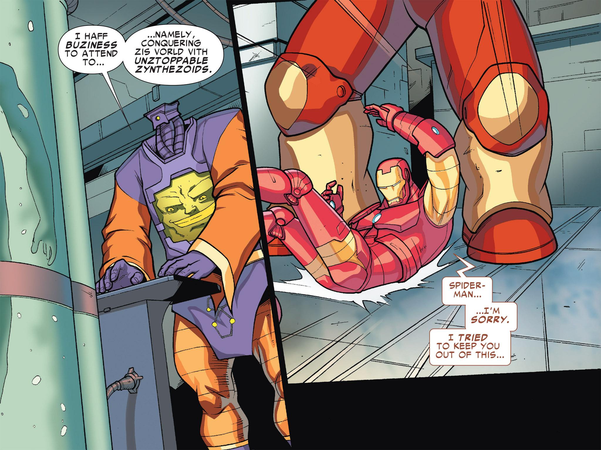 Read online Ultimate Spider-Man (Infinite Comics) (2016) comic -  Issue #5 - 25