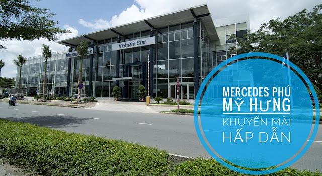 Mercedes Phú Mỹ Hưng Tp HCM khuyến mãi hấp dẫn