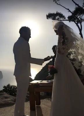 Brazilian Star Dani Alves Marries Joana Sanz In Secret Ibiza Wedding