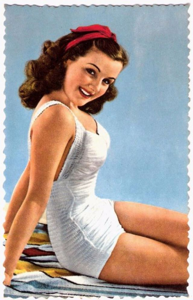 Vintage Swimwear Revisited 69 Glamorous Postcards Show