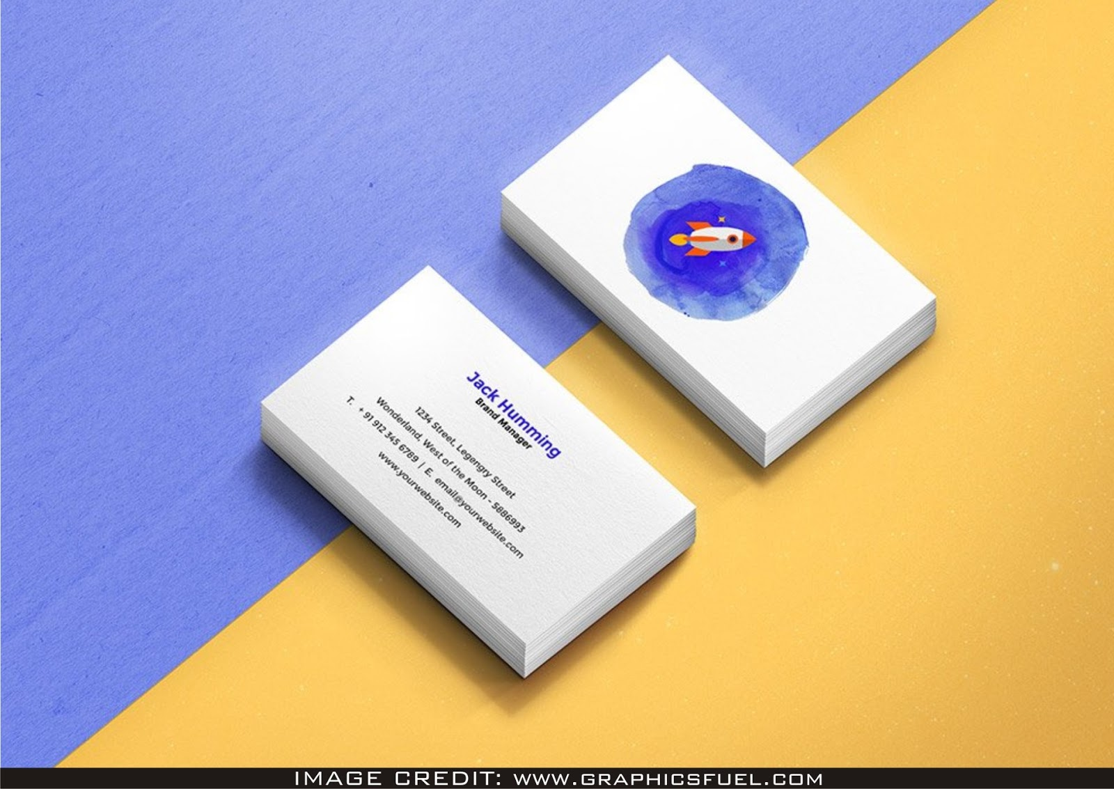 Front Back Business Card Psd Mockup Free Download Latest 2019 All