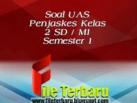 Download Soal UAS Penjaskes Kelas 2 SD / MI Semester 1 Lengkap