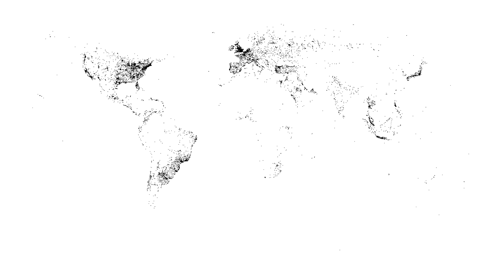 Mapping the world with tweets